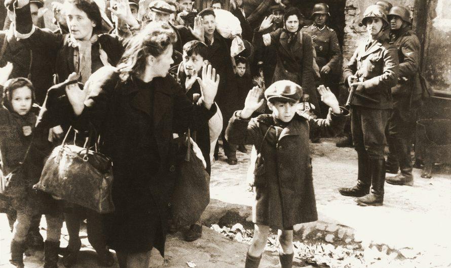 Gedenken an den Aufstand im Warschauer Ghetto